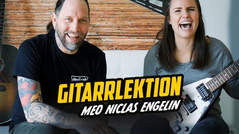 Gitarrlektion med Niclas Engelin