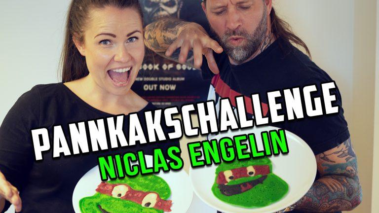 Pannkakschallenge – Niclas Engelin