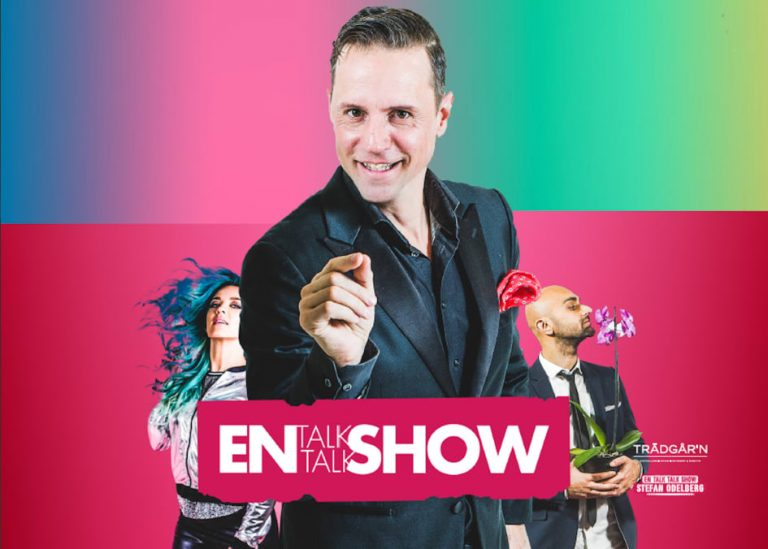 Tävling – En Talk Talk Show med Stefan Odelberg