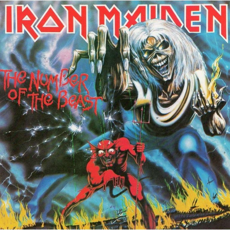 Vinyl – Iron Maiden – The Number Of The Beast