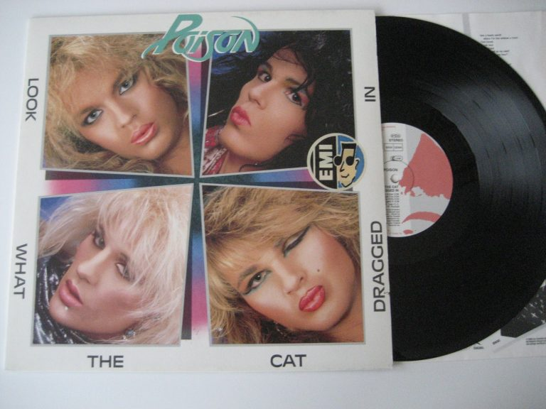 Vinyl – Poison – Look What The Cat Dragged In
