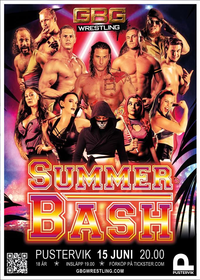Tävling – GBG Wrestling – Summer Bash