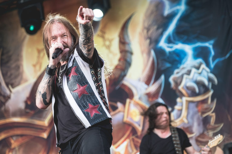 Behind The Vinyl – Hammerfall – Live! Against The World with Joacim Cans