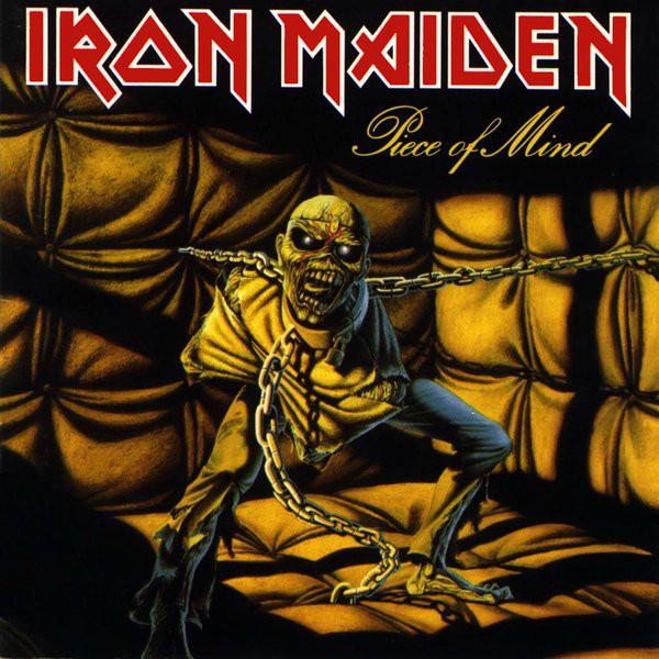 Behind The Vinyl – Iron Maiden – Piece Of Mind with Robbie Crane