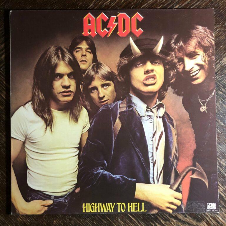 Behind The Vinyl – AC/DC – Highway To Hell with Jesper Binzer